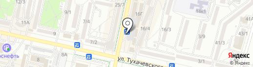 26 Роза на карте Ставрополя