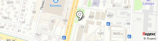 СтолБери на карте Ставрополя