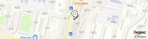 Lauma на карте Ставрополя