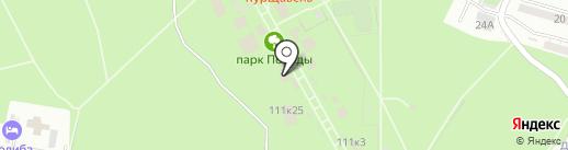 Зазеркалье на карте Ставрополя