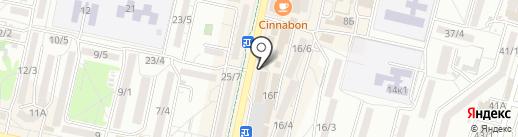 585 GOLD на карте Ставрополя