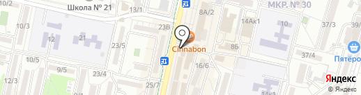 Щит на карте Ставрополя