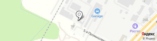 Кронас на карте Ставрополя