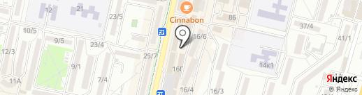 Сто лото на карте Ставрополя