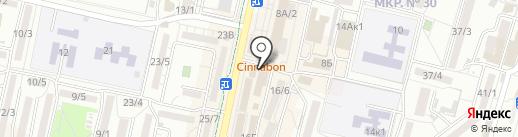 Николаевские полуфабрикаты на карте Ставрополя