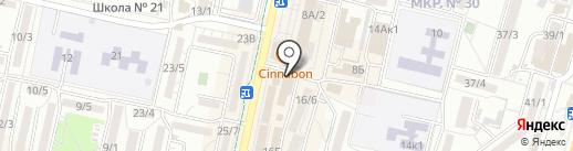 BARBOSS на карте Ставрополя