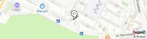 Банкомат, Почта Банк, ПАО на карте Ставрополя