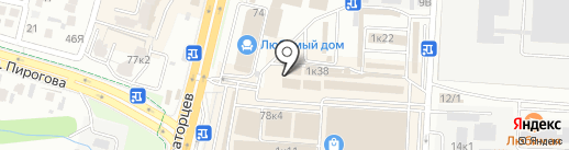 Кубань-М на карте Ставрополя