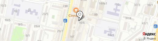 Малышок на карте Ставрополя