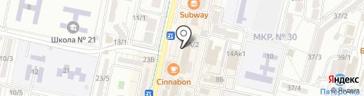 Мои документы на карте Ставрополя