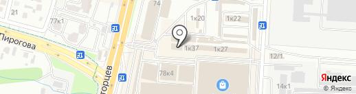 Город штор на карте Ставрополя
