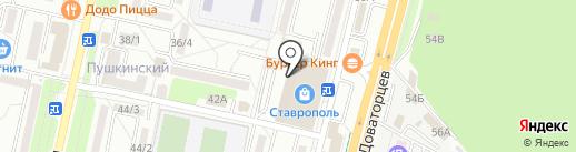 КлючФинанс на карте Ставрополя