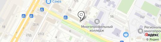 Леон на карте Ставрополя