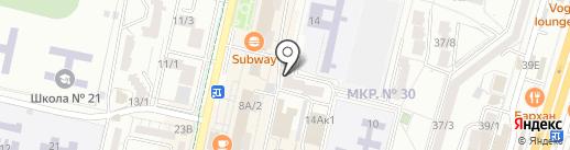 Храбрые иголки на карте Ставрополя