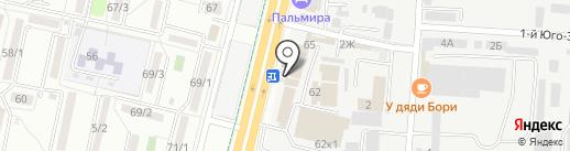 Индиго Софт Паблишинг на карте Ставрополя