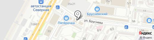 Хмельная бочка на карте Ставрополя