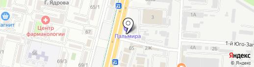 Fast-Car Group на карте Ставрополя