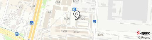 Русский фейерверк на карте Ставрополя