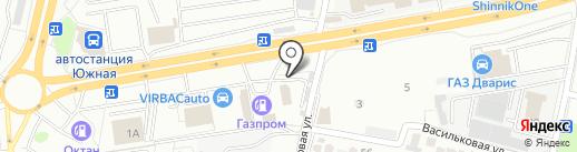 Респект Авто на карте Ставрополя