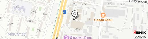 А таксо на карте Ставрополя