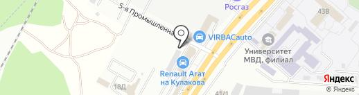 Прицеп26 на карте Ставрополя