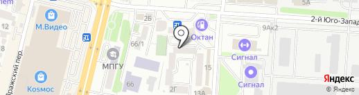 СТРОЙ-СФЕРА на карте Ставрополя