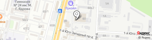 Магазин автоэмалей на карте Ставрополя