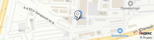 Домикс на карте Ставрополя