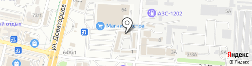 Современные Телекоммуникации-Юг на карте Ставрополя