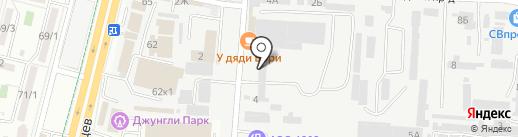 Магазин автозапчастей для грузовых автомобилей на карте Ставрополя
