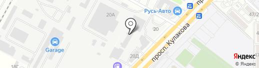 Мастерская по аргоновой сварке на карте Ставрополя