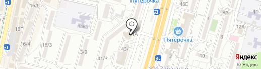 Тюлькин Дом на карте Ставрополя