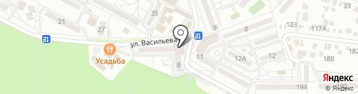 Цветочный Джем на карте Ставрополя