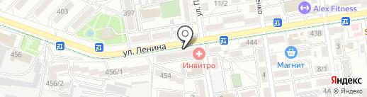 СГРЦ на карте Ставрополя