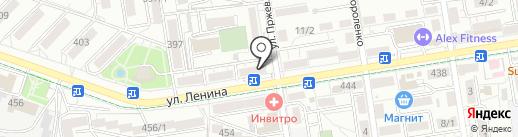 Магазин по продаже фруктов и овощей на карте Ставрополя