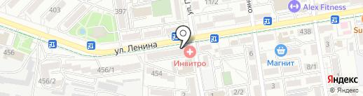 Астра-букет на карте Ставрополя