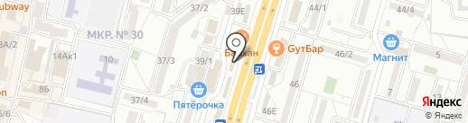 Тюль-Портьеры на карте Ставрополя