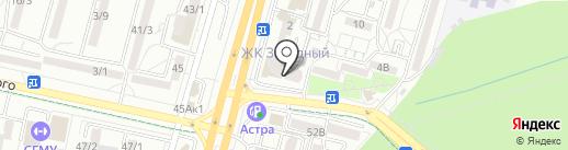 Pretty на карте Ставрополя