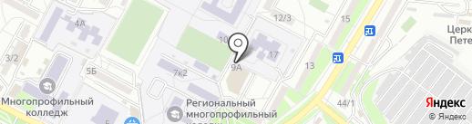 Genius Camp на карте Ставрополя