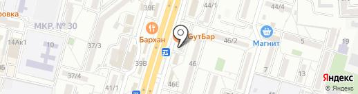 Талантология на карте Ставрополя