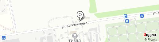 Крутая Тачка на карте Ставрополя