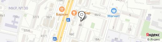 Ставропольлифт на карте Ставрополя