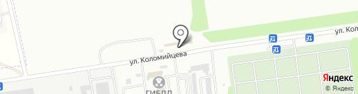 Кафе на карте Ставрополя