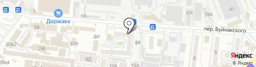 СЕКВОЙЯ на карте Ставрополя