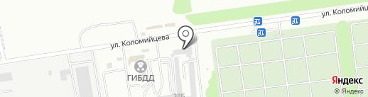 TWF на карте Ставрополя