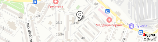 OxyGym на карте Ставрополя