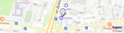 Casanova на карте Ставрополя