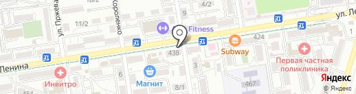 Мясной Привоз на карте Ставрополя