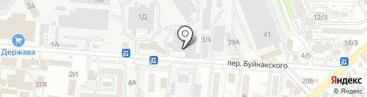 Биотроника на карте Ставрополя