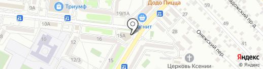 Voice на карте Ставрополя